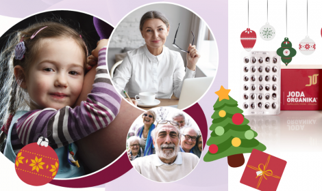 Vianočná akcia - Joda Organika® ako skvelý darček pre najbližších